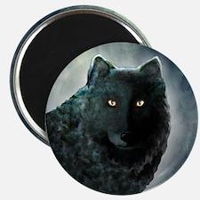 Black Wolf Magnet