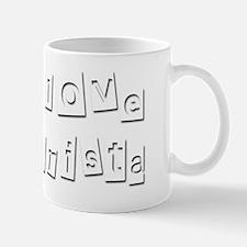 I Love Christa Mug