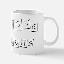 I Love Chana Mug