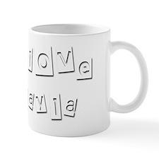 I Love Cayla Small Mug