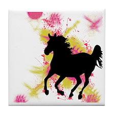 Running Horse Tile Coaster