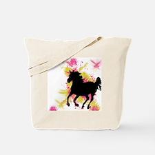 Running Horse Tote Bag
