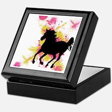 Running Horse Keepsake Box