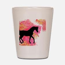 Arabian Horse Shot Glass