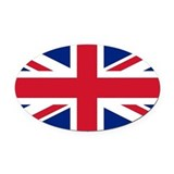 British Oval Car Magnets