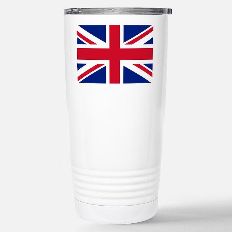 Union Jack Stainless Steel Travel Mug