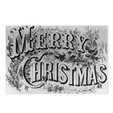 Vintage Christmas Postcards (Package of 8)