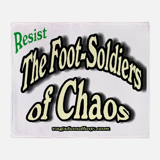 Footsoldiers of Chaos Throw Blanket
