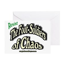 Footsoldiers of Chaos Greeting Card