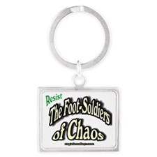 Footsoldiers of Chaos Landscape Keychain