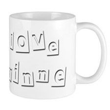 I Love Corinne Small Mug