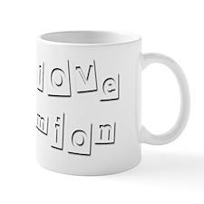 I Love Damion Mug