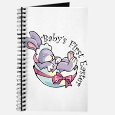 Baby's First Easter Bunny Journal