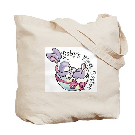 Baby's First Easter Bunny Tote Bag