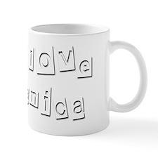 I Love Danica Mug