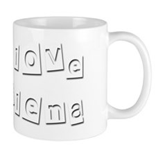 I Love Delena Coffee Mug