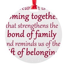 2013 Boone Family Reuinion Ornament