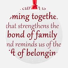 2013 Boone Family Reuinion Ornament