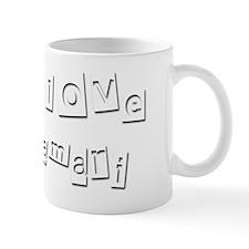 I Love Damari Mug