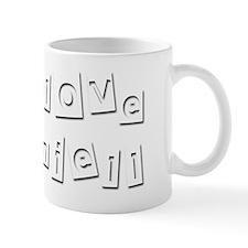 I Love Daniell Mug