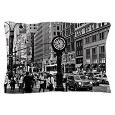 Fifth Ave - New York City Pillow Case