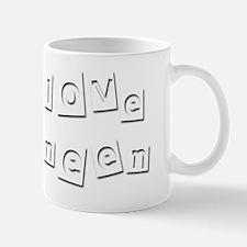 I Love Deneen Mug