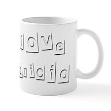 I Love Mauricio Mug