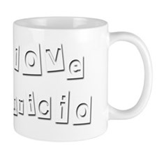 I Love Mauricio Small Mug