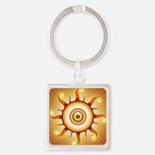 Eye In The Sky Square Keychain