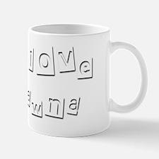 I Love Dawna Mug