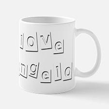 I Love Deangelo Small Small Mug