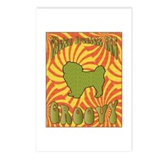 Groovy Spaniels Postcards (Package of 8)
