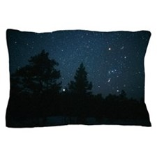 Starfield including Orion, Sirius Pillow Case