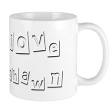 I Love Deshawn Small Mug