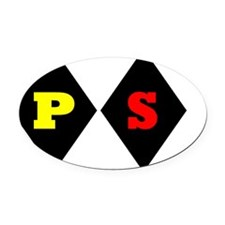 PS Derby Diamonds | Stakes Race Oval Car Magnet