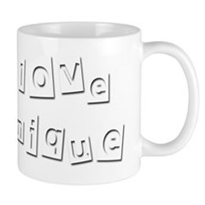 I Love Monique Small Mug