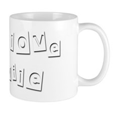 I Love Mile Small Mug