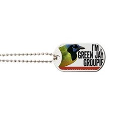 Green Jay Groupie Dog Tags