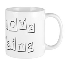I Love Elaina Small Mug
