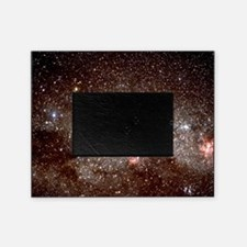 Starfield with the constellations of Picture Frame