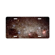 Starfield with the constell Aluminum License Plate