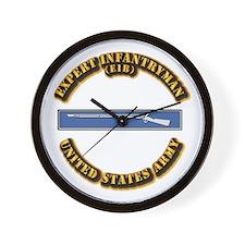 Army - EIB Wall Clock