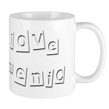 I Love Domenic Small Mug