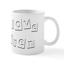 I Love Efren Small Mug