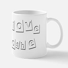 I Love Moshe Mug