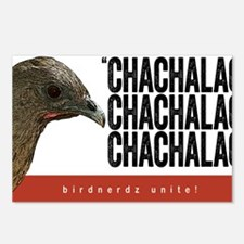 Chachalaca, Chachalaca Postcards (Package of 8)