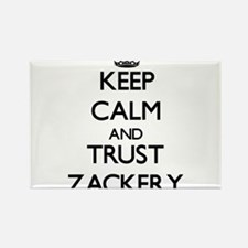 Keep Calm and TRUST Zackery Magnets