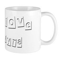 I Love Myra Small Mug