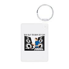 Yo DJ, Turn It Up Keychains