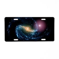 Supernova in galaxy NGC 130 Aluminum License Plate